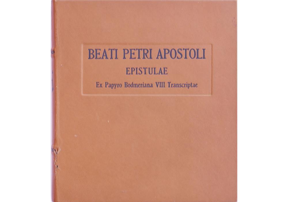 ... Epistles Of Saint Peter (The Bodmer Papyri VIII)  Manuscript Facsimile  Book  ...