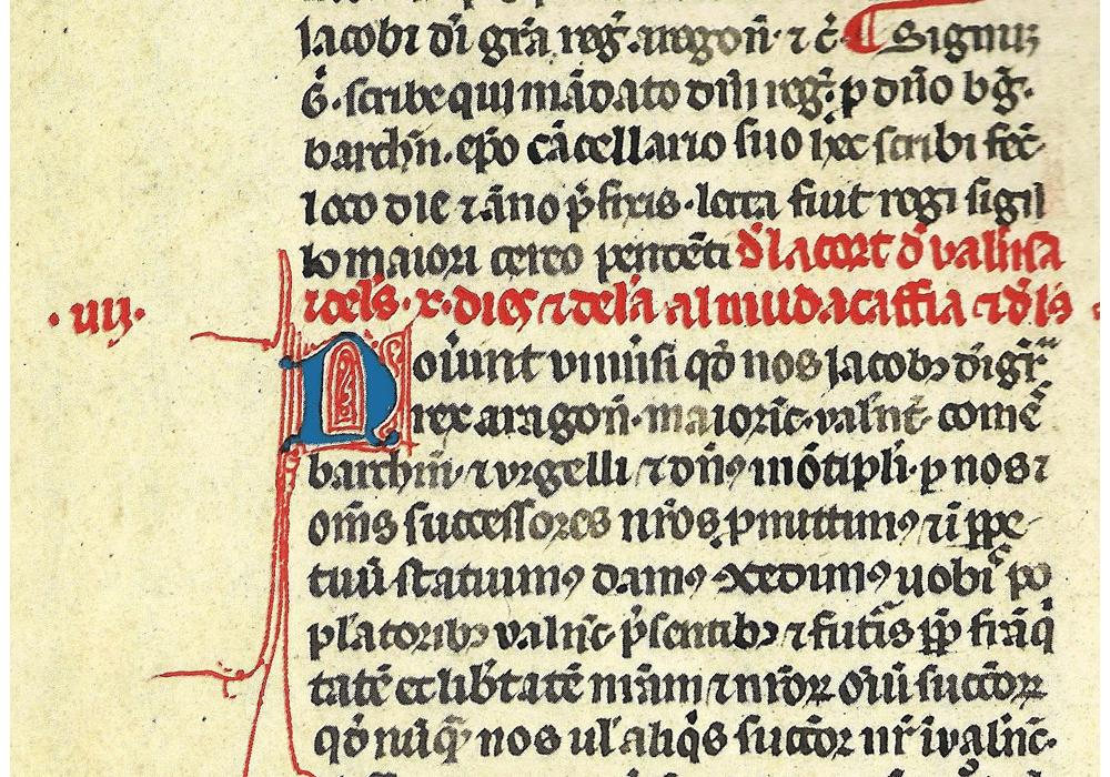 ... Prilegis Valencia Jaime I Aragón Manuscript Illuminated Codex Facsimile  Book  ...